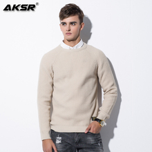 AKSR 2019 Autumn and Winter Men Pullover Sweater Mens Pullovers Coat Sueteres Hombre Sweter Trui Mannen