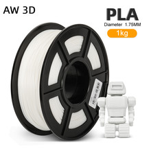 Filamentos do carretel do filamento 1kg 2.2 lbs 1.75mm do pla a favor do meio ambiente rolo livre da bolha para o material da impressora 3d fdm