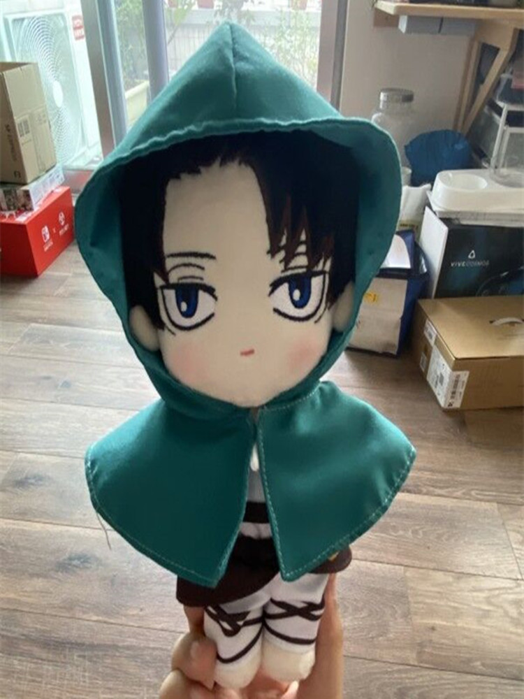 Toy Dress-Up Soldiers Plush-Doll Attack Titan Gift Stuffed Cosplay Cute Levi Lovely Cosmile-Limited
