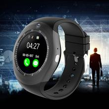 Y1S Smart Watch Men IP67 Touch Screen Sport Fitness Activity Tracker Sleep Monitor Pedometer Calories Track Support SIM Card(China)