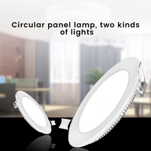 AC Led Panel Light Round Downlight 18W LED Surface Ceiling Lamp For Kitchen Lighting For Indoor Home Lighting cheap everso S15240082 Holiday Aluminum 220V