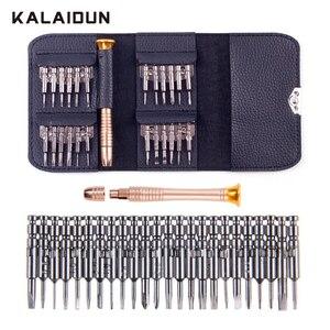 Image 1 - Kalaidun Schroevendraaier Set 25 In 1 Torx Schroevendraaier Reparatie Tool Set Voor Iphone Mobiele Telefoon Tablet Pc Wereldwijd Winkel Handgereedschap