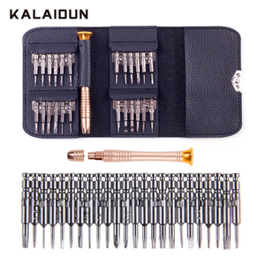 KALAIDUN Screwdriver Set 25 in 1 Torx Screwdriver Repair Tool Set For iPhone Cellphone Tablet PC Worldwide Store Hand tools(China)