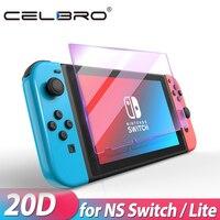 Protector de pantalla de cristal templado para Nintendo Switch Lite, protección contra luz azul