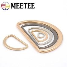 10pcs Rings for Metal alloy semi-circle type D rings  Bags Garment Accessories Buckle