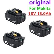 Batterie Lithium-ion 18v, 18000mAh, Rechargeable, pour Makita BL1840 BL1850 BL1830 BL1860B LXT 400 + chargeur 4A