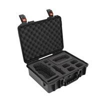 Saco de armazenamento à prova dwaterproof água caso de transporte de controle remoto com tela quatro anti bateria à prova de explosão caixa do plutônio para dji mavic 2|Filtro para drone| |  -