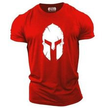 My Hero Spartan Men t-shirt oversize 2021 Summer New Gym Outdoor Top Tees fitness Brand Men's clothing T-shirts graphic t shirts