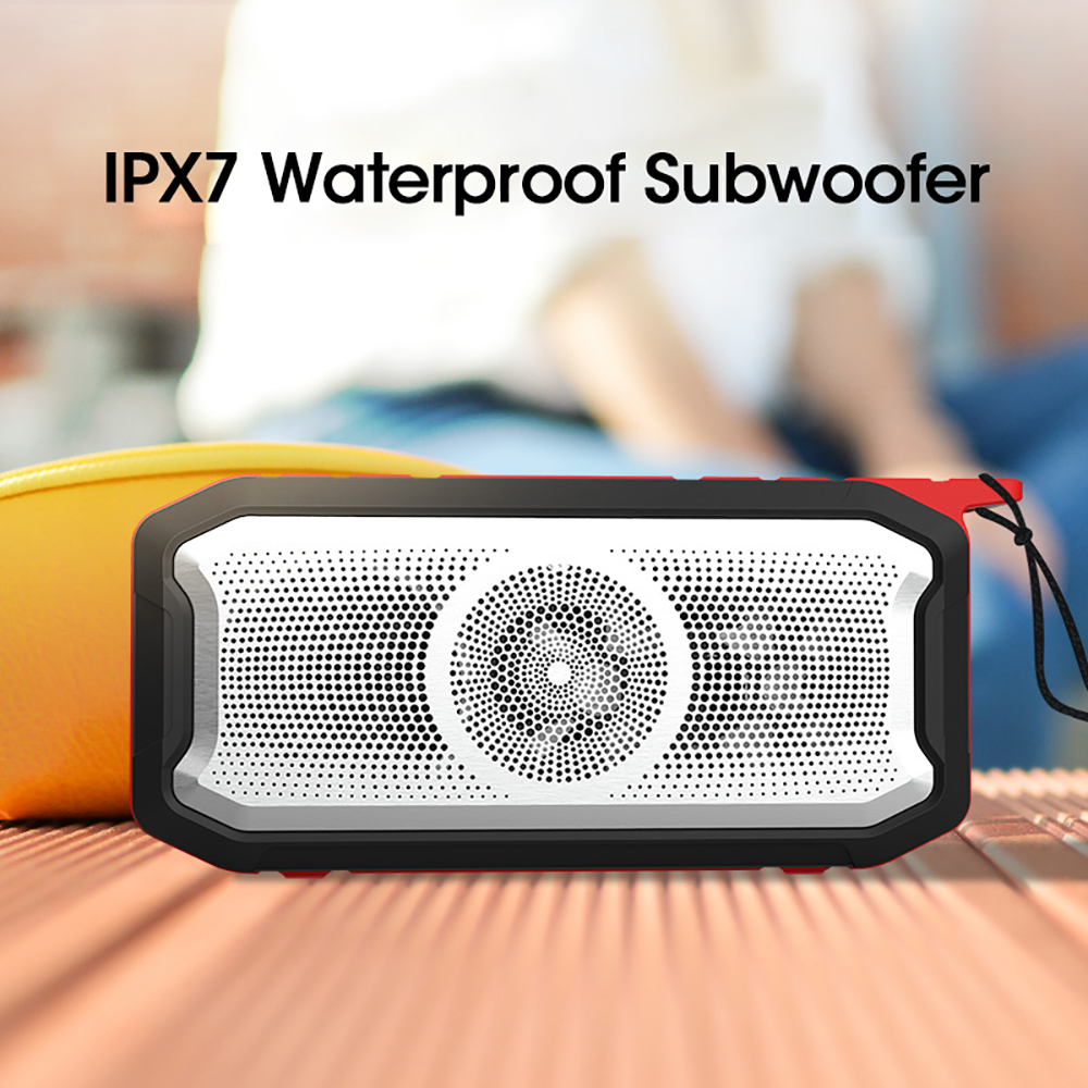 VTIN Portable Bluetooth Speaker Wireless Radio Stereo TF//FM Subwoofer Super Bass