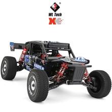 Wltoys rc carro 124018 60km/h alta velocidade 1/12 escala 2.4g 4wd rc fora de estrada rastreador rtr elétrico rc escalada carro modelo de brinquedo para meninos