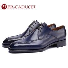 Г., мужская обувь на плоской подошве Роскошные Брендовые мужские туфли-оксфорды ручной работы в винтажном стиле, в стиле ретро, для офиса, свадьбы, вечеринки, в итальянском стиле