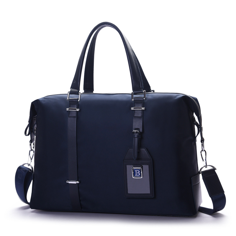 New Design Men's Briefcase Water Proof Laptop Bag Oxford Male Handbag Large Capacity Travel Bag Causal Shoulder Cross Body Bag