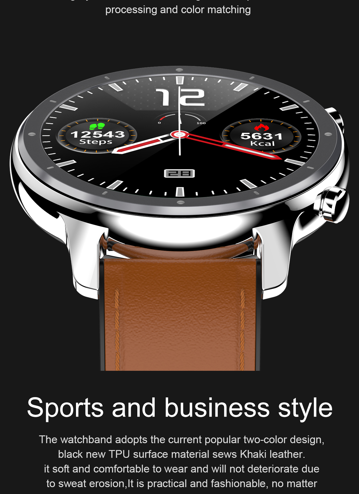 Had6f8428dd6245c2acdd2a0e0cdd4e92G LEMFO 2020 Smart Watch Men Full Touch Screen  IP68