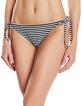 Roxy bikinipipe cravate côté J-partie du bas de Bikini pour femme, couleur noir (amour frappé vrai noir), taille s