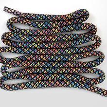 Разноцветное Полосатое круглое кружево