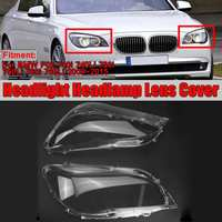 Car Front Headlight Headlamp Lens Cover Shell For BMW F02 740i 740Li 750i 750Li 760i 760Li 2009 2015 Car Headlamp Cover Shell