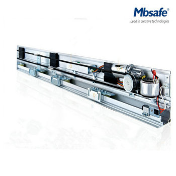 MBS-C9 MBS-C10 Mbsafe Automatic Glass Sliding Sensor Door Motor With Dunker Brush Motor automatic sliding door motor drive belt 8 meters