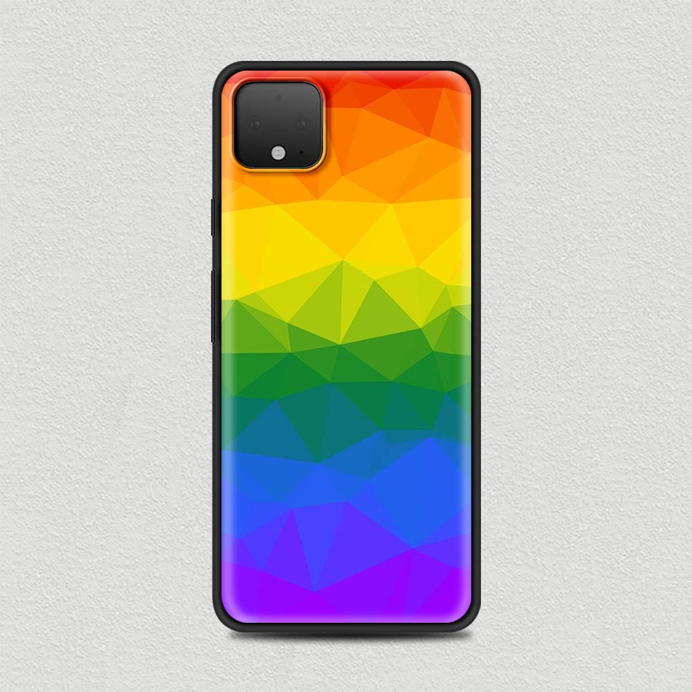 Gay Silicone Phone Case For Google Pixel 4 XL 4 4A Cover For Google Pixel 5 4G 5G Soft Black Shell Cover