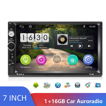 2 Din Android Car Radio 7 HD Autoradio Multimedia Player Touch Screen Auto Audio Car Stereo MP5 Bluetooth USB TF FM Camera image