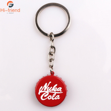 2017 New Nuka Cola Keychains For Best Friends Gift