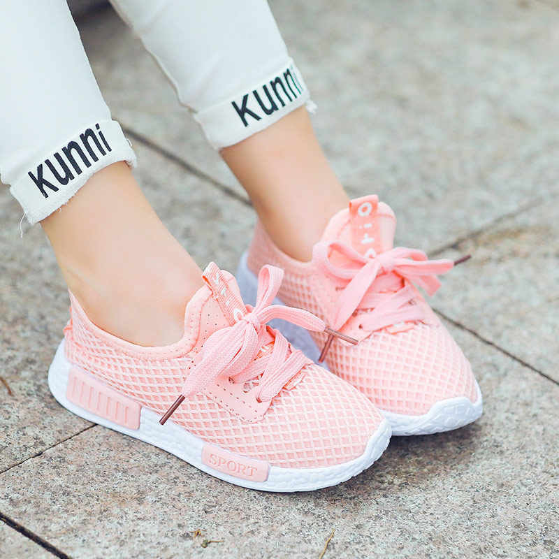 ילד ריצה סניקרס קיץ ילדי ספורט נעלי Tenis Infantil ילד סל הנעלה קל משקל לנשימה ילדה Chaussure Enfant