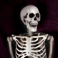 Halloween 90cm Scary Bones Props Hanging Haunted House Decoration LB88