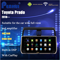 10.1 Intel TS9 8-Core Android RAM 4GB+64GB ROM of Car DVD GPS for Toyota Prado (2018---) Support Original AMP&360 Full-View