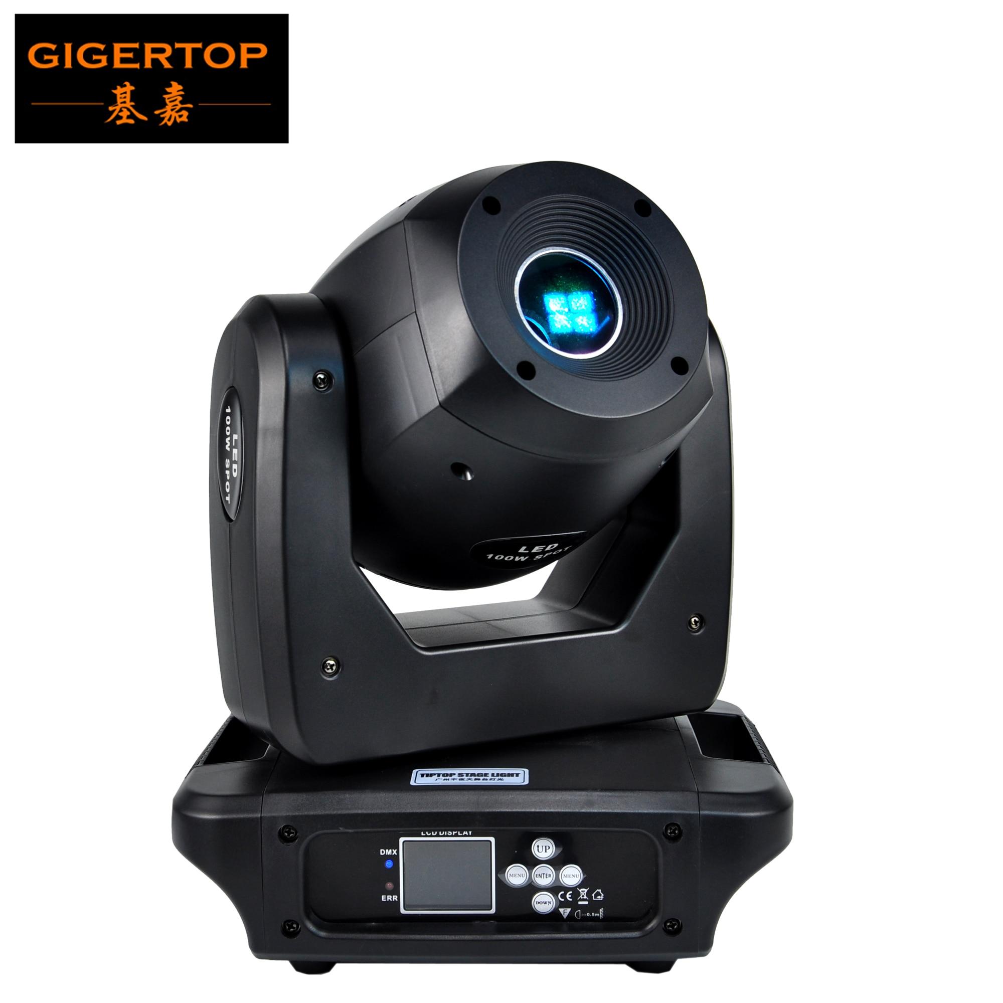 Светодиодный прожектор TIPTOP 100 Вт с движущейся головкой, клубный диджейский сценический светильник, вечерние дискотеки DMX, 14 каналов, CE ROHS RDM,