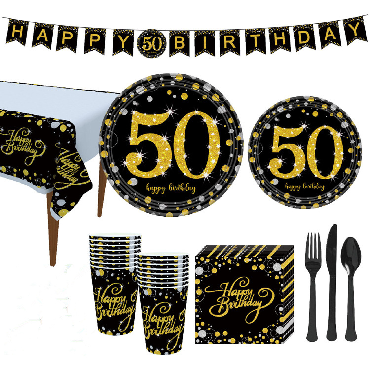 Tablecloth Disposable Plates Napkins Cups Game On Gaming Party Theme 8pc Party Pack Foil Balloon and Balloons