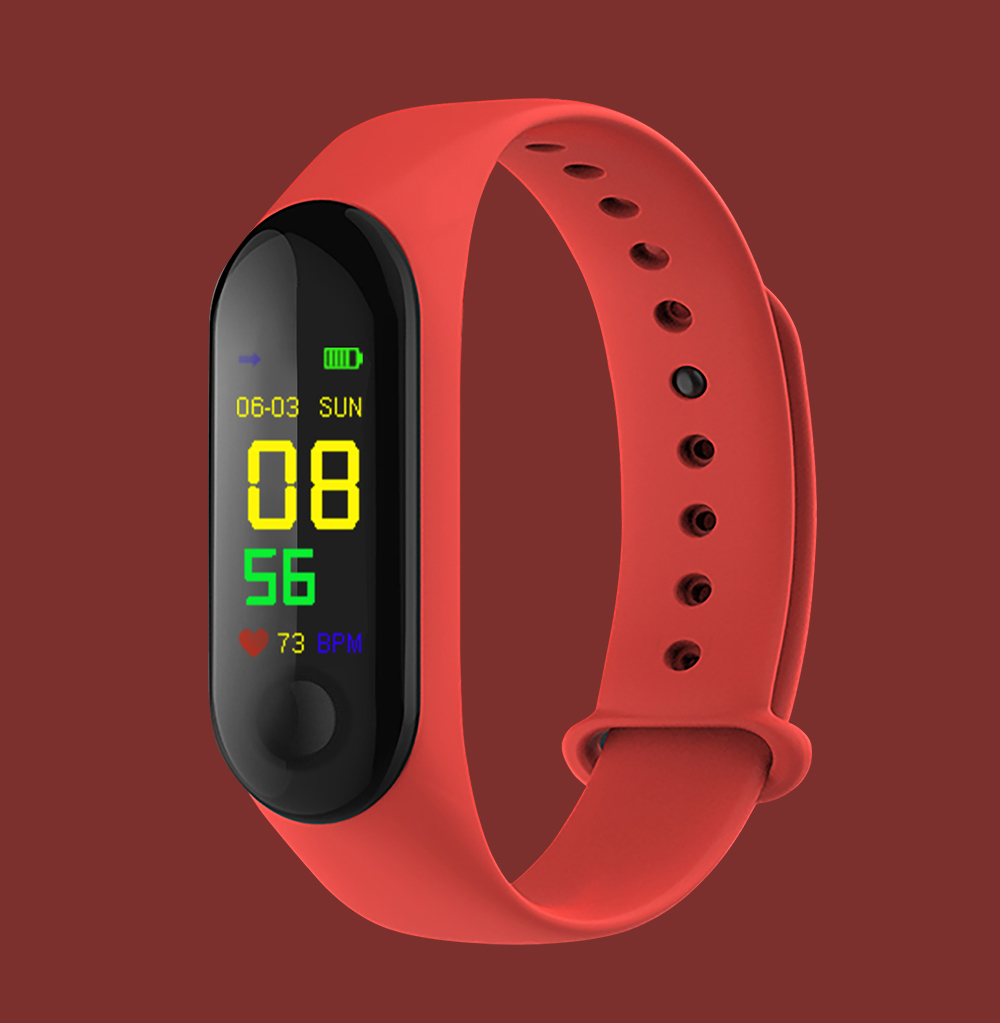 M3Pro Smart Watch Sport Smart Band Blood Pressure Monitor Smart Wristband Smartwatch Bracelet M3 Plus Wristband for Men Women 10