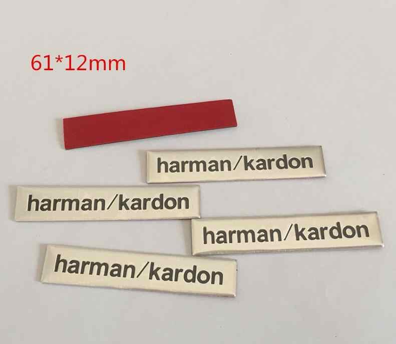 Harman/kardon Meridianos, Dynaudio FOCAL Fender, altavoz Hi-Fi con insignia de altavoz, emblema estéreo, stying pegatina, 10 Uds.