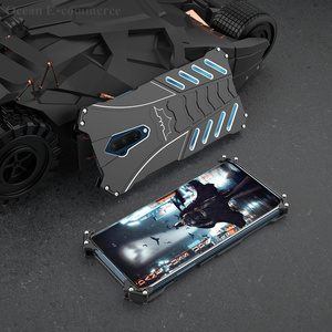 Image 4 - Luxury Batman Elements Aluminum Metal Case For OnePlus 7T/ Pro Slim Hard Shockproof Back Cover Case OnePlus7T Pro One Plus 7TPro
