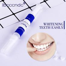 1Pc 3ML Dental Teeth Whitening Yellow Smoking Stains Removal Pen Teeth Decontamination Brighten Gel Pen Tooth Cleaning Gel TSLM1