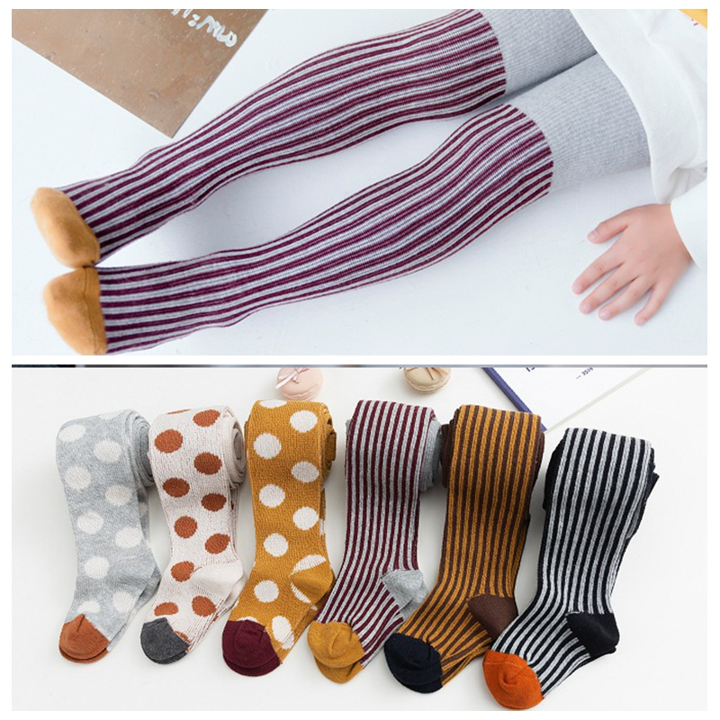 Girl Stockings Fashion Baby Girl Tights Autumn Winter Boys Sports Pantyhose Girls Clothing Kids Princess Cotton Tights