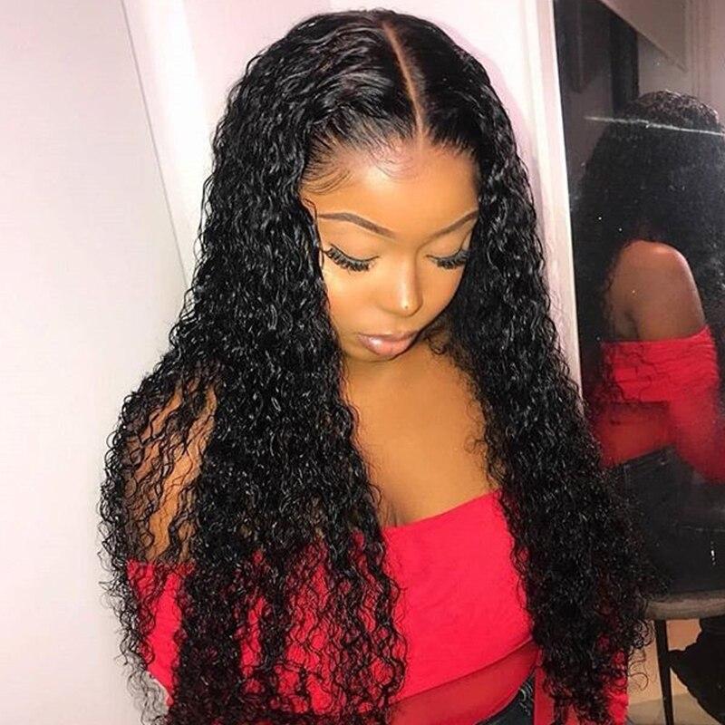Curly Full Lace Human Hair Wig 250 Density Fake Scalp Deep Wave Short Bob Glueless Transparent Lace Wig Dolago Wig 10-32