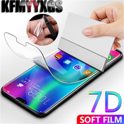На Алиэкспресс купить стекло для смартфона 7d full cover hydrogel film for huawei mate 20 pro p20 lite p20 pro soft screen protector for honor 8x mate 10 not glass