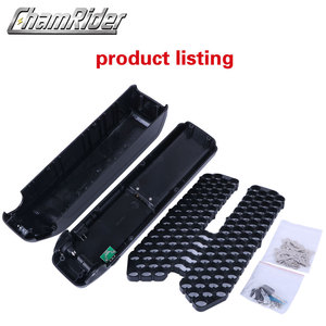 Image 2 - SSE 077 HaiLong Down Tube downtube E bike Electric bike battery box case with USB 5V output with 10S 6P 13S 5P Nickle strips