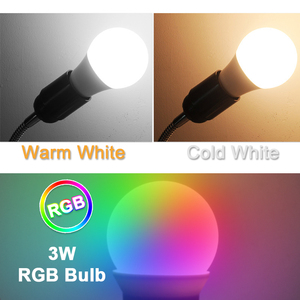 Image 2 - 10 개/몫 LED 전구 디 밍이 가능한 램프 E27 E14 220V 240V RGB Led 전구 스마트 IC 진짜 전원 24W 20W 18W 15W 12W 9W Lampada LED Bombilla