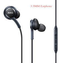Original For Samsung AKG 3.5mm Wired Headphones IG955 In-ear Earphone With Mic Volume Control Headset for AKG Galaxy S8 S7 S6
