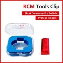 Замена инструменты RCM зажим короткое замыкание цепь модификация файл пластик приспособление разъем для Nintend переключатель