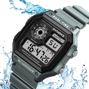 Count Down Waterproof Watch