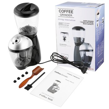 Professional Coffee Grinder Home Use Electric Grinding Machine Equipped With 420 Stainless Steel Grinding Disk