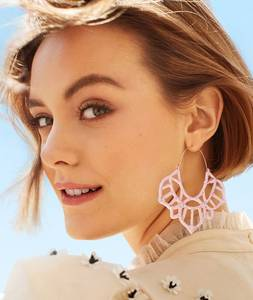 Big-Hoop-Earrings Jewelry Geometric Women New-Fashion for Large Hollow Statement-Loop