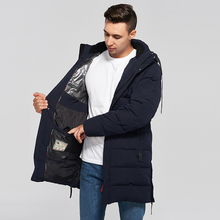 цена на 2019 new Winter Jacket Men Fashion Parka Men Thick Warm Long Thicken Warm Parka Cotton padded jacket High Quality coat male
