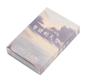 52mm*80mm Cloud Sky Paper Greeting Card Lomo Card(1pack=28pieces)