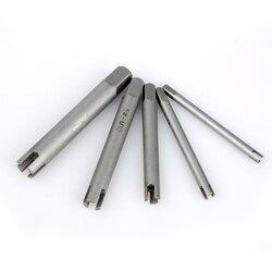 Gorąca HSS 5/10 sztuk flet złamane kranu zestaw wytrychów stali nierdzewnej uszkodzone głowy krany Remover narzędzie do usuwania narzędzia do napraw ręcznych w Zestawy narzędzi ręcznych od Narzędzia na