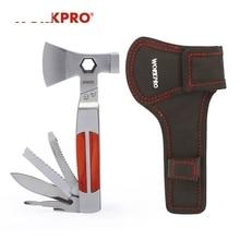 Pocket WORKPRO Axe Multi-Tools Twin-Axe/hammer 12-In-1 Heavy-Duty