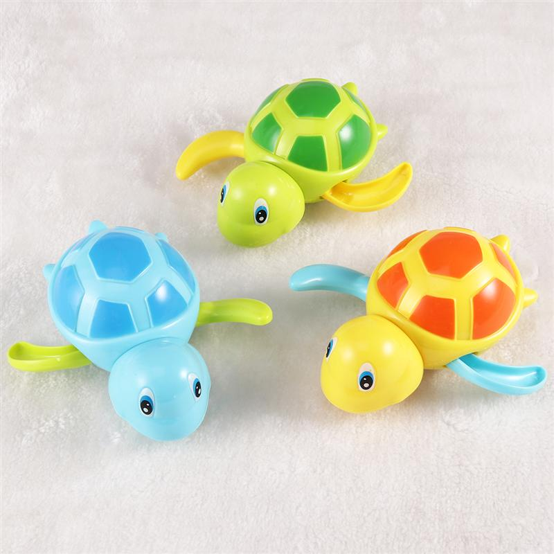 TOYMYTOY 3 PCS Bath Toys Fun Turtle Portable Lightweight Kids Toys For Teens Kids