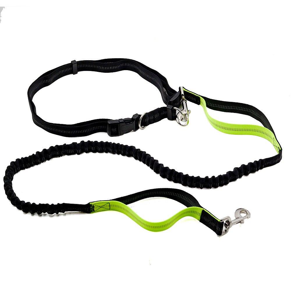Amazon Hot Selling Pet Running Hand Holding Rope Dog Sports Set Dog Reflective Traction Belt Set