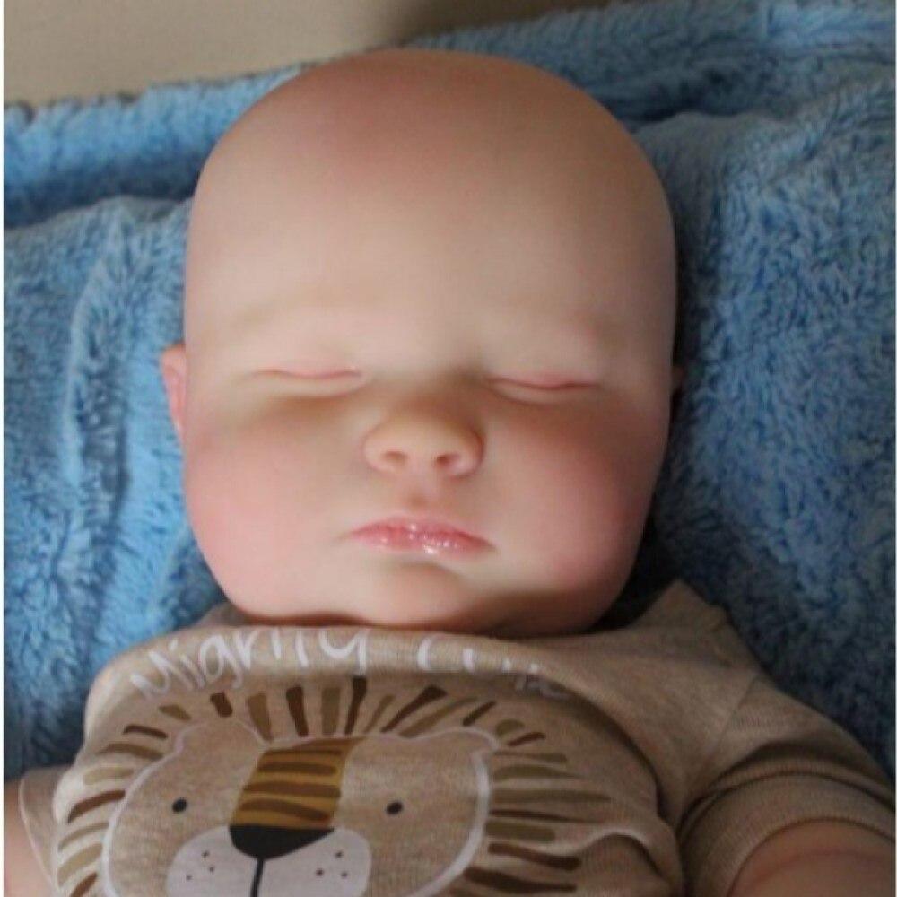 Rbg diy em branco reborn bebê boneca kit 23 Polegada joseph sono realista vinil unpainted inacabado peças de brinquedo presente para a menina ano novo